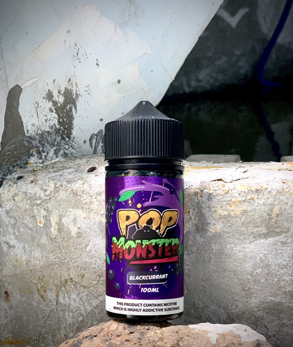 Pop Monster Blackcurrant
